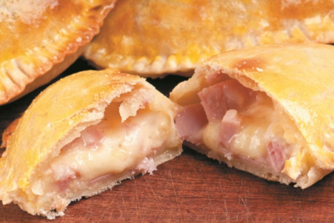 Pastéis de queijo e fiambre: têm um aspeto e um sabor deliciosos!