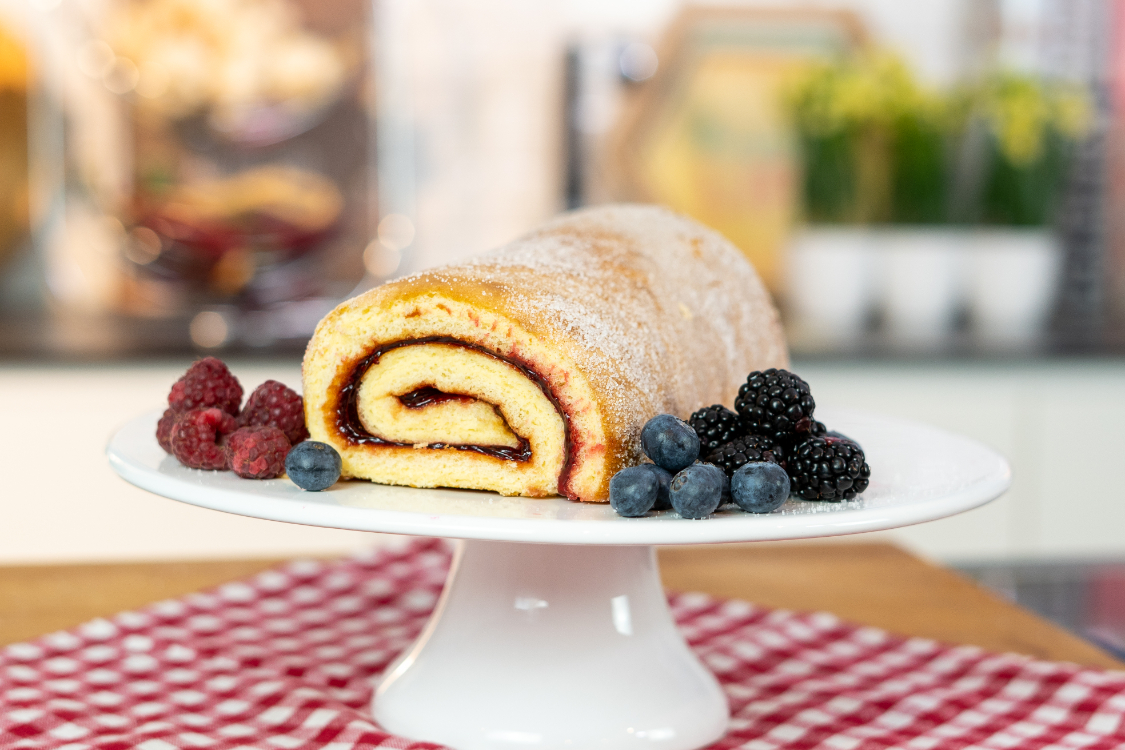 Torta de frutos vermelhos: uma das melhores sobremesas!