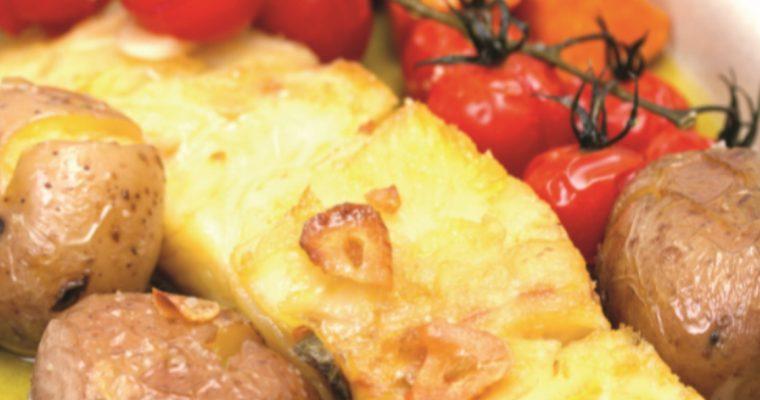 Bacalhau em azeite de alecrim: para abrir o apetite para o novo ano!