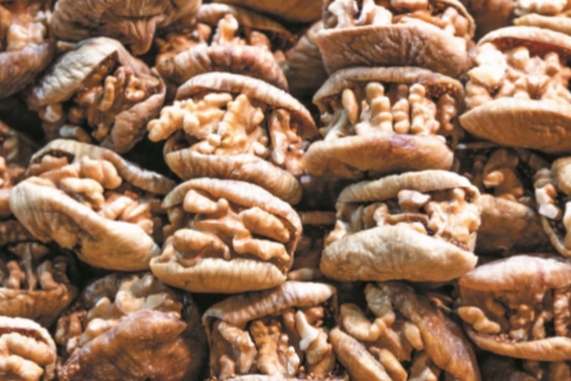 Figos recheados com noz: para quem adora frutos secos!