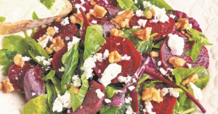 Salada de beterraba e nozes: para agradar aos paladares mais exigentes!
