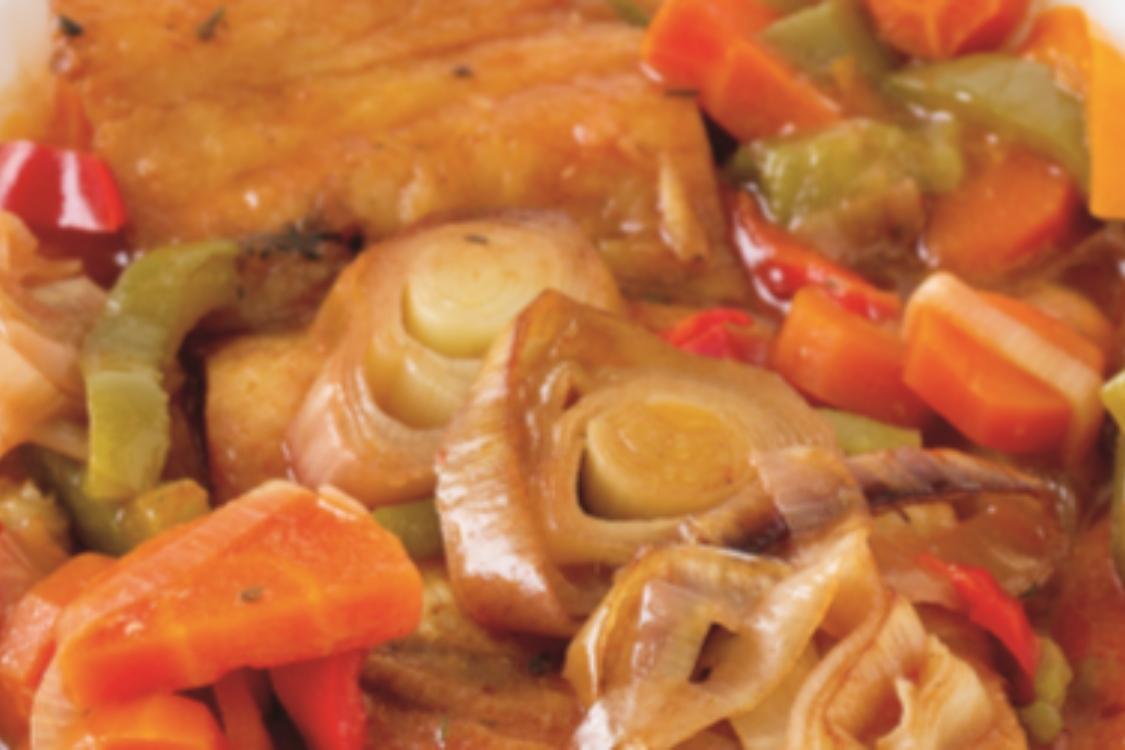 Bacalhau guisado com legumes: deliciosa forma de cozinhar bacalhau!