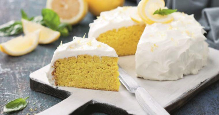 Bolo de limão: uma fresca tentação!
