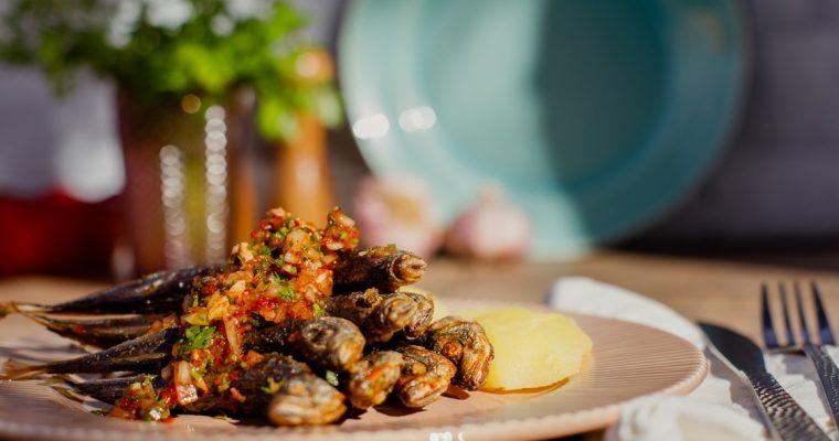 Chicharro com molho de vilão, uma receita típica açoriana!