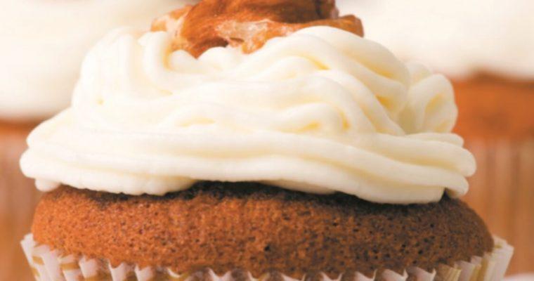 Que tal aprender a fazer uns cupcakes de noz?