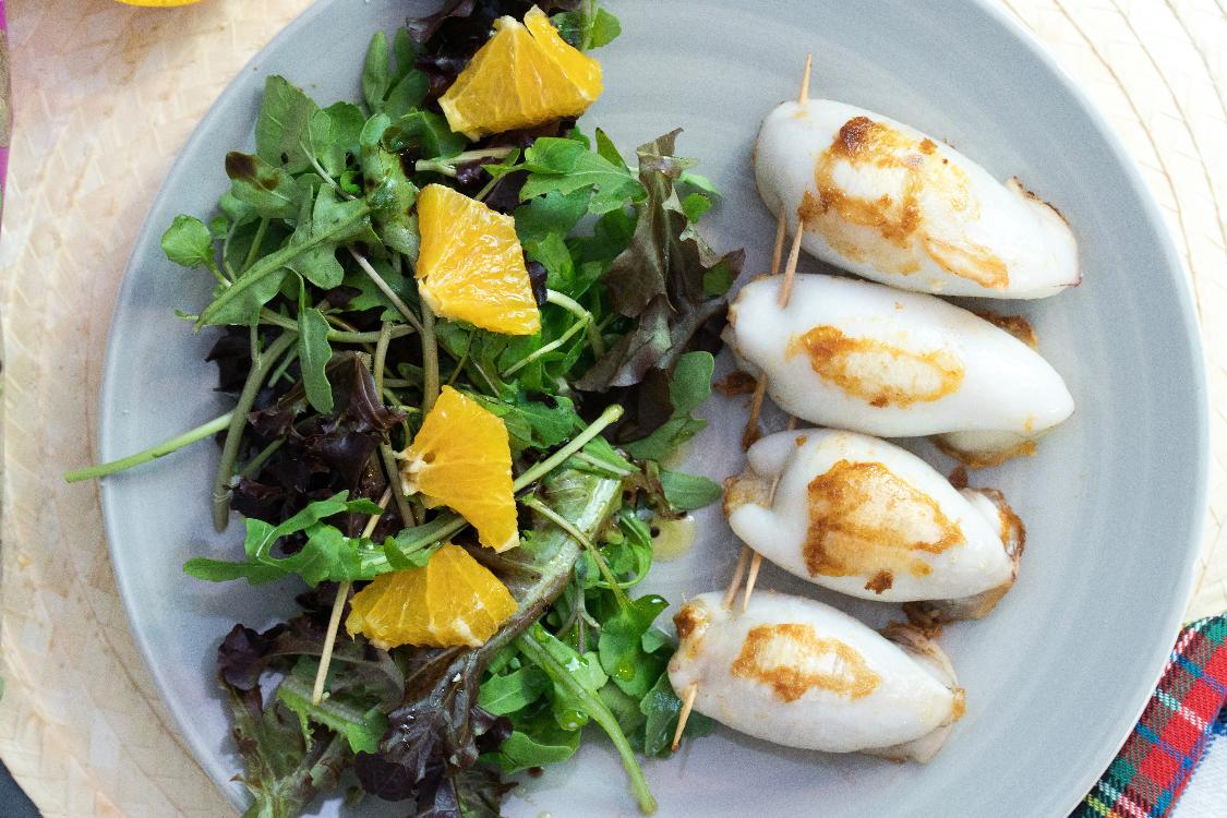 Lulas recheadas com alheira: uma receita absolutamente deliciosa!