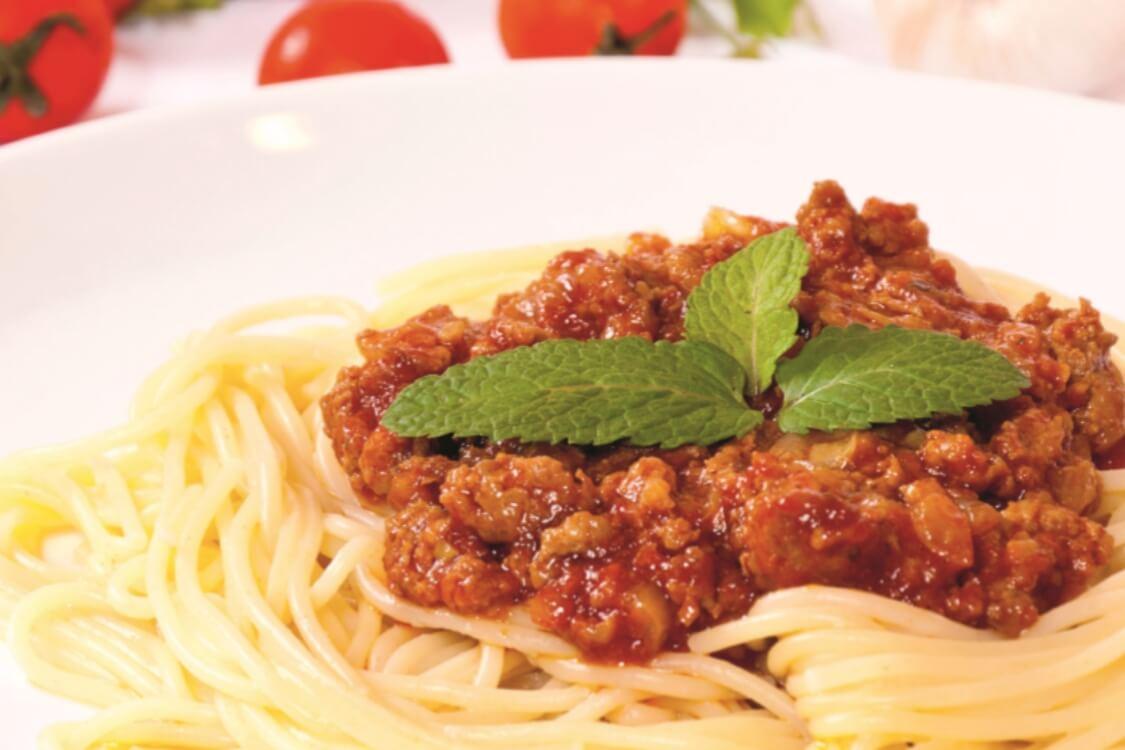Receita de esparguete à Bolonhesa: um prato muito apreciado!