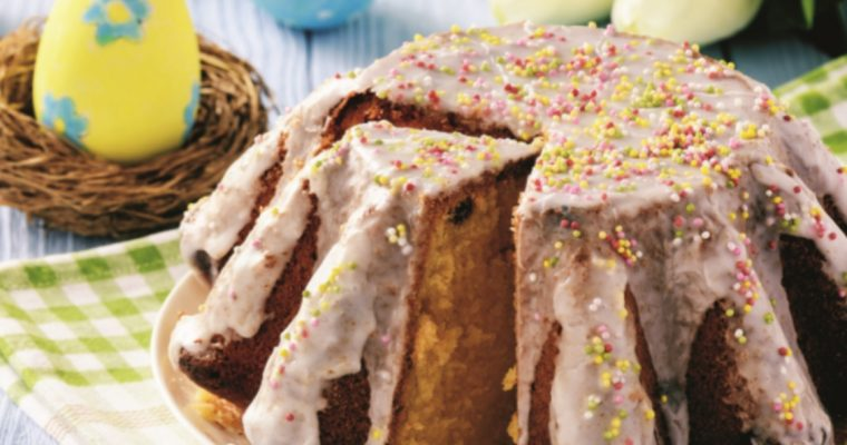 Bolo de flor de anis com passas e canela: um aromático bolo da Páscoa!