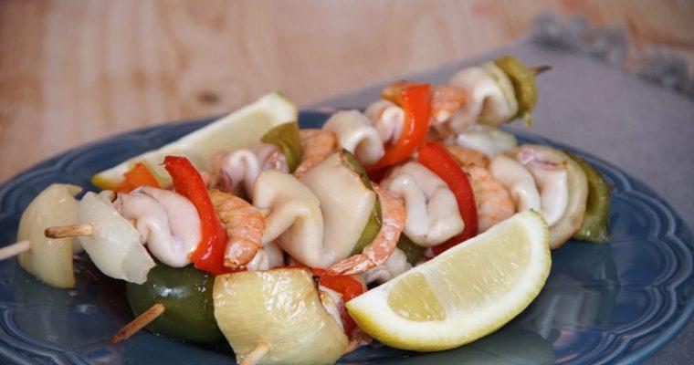 Espetadas de choco: uma sugestão bem simples, deliciosa e saudável!