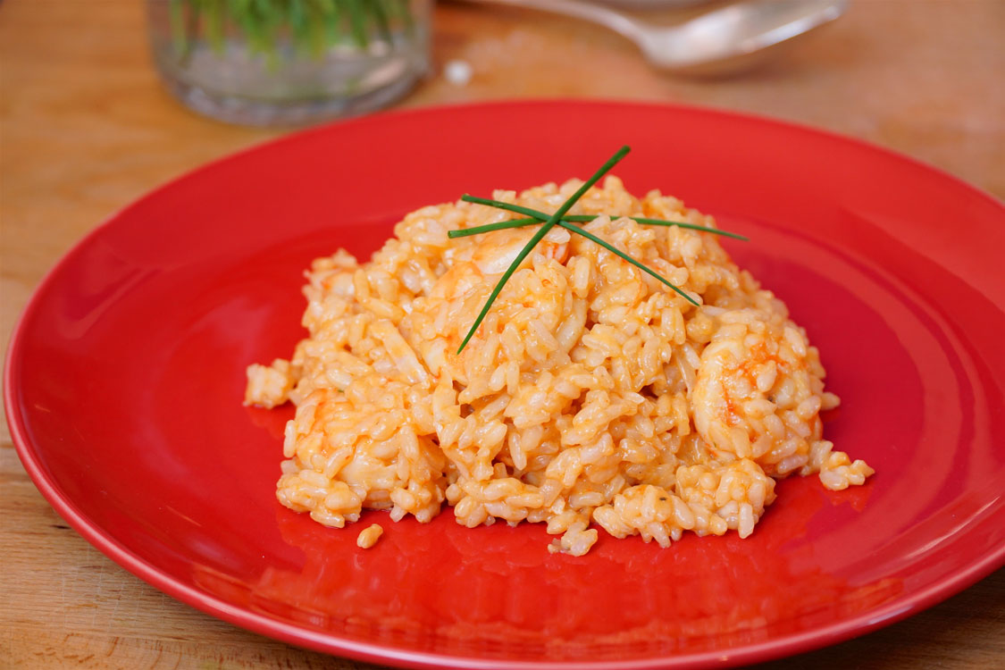 Risoto de camarão: uma delícia fácil e rápida de preparar!