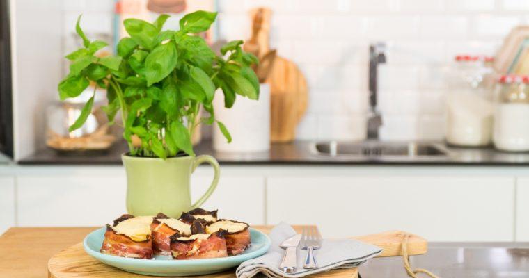 Rolinhos de batata e bacon: o seu vício deste verão!