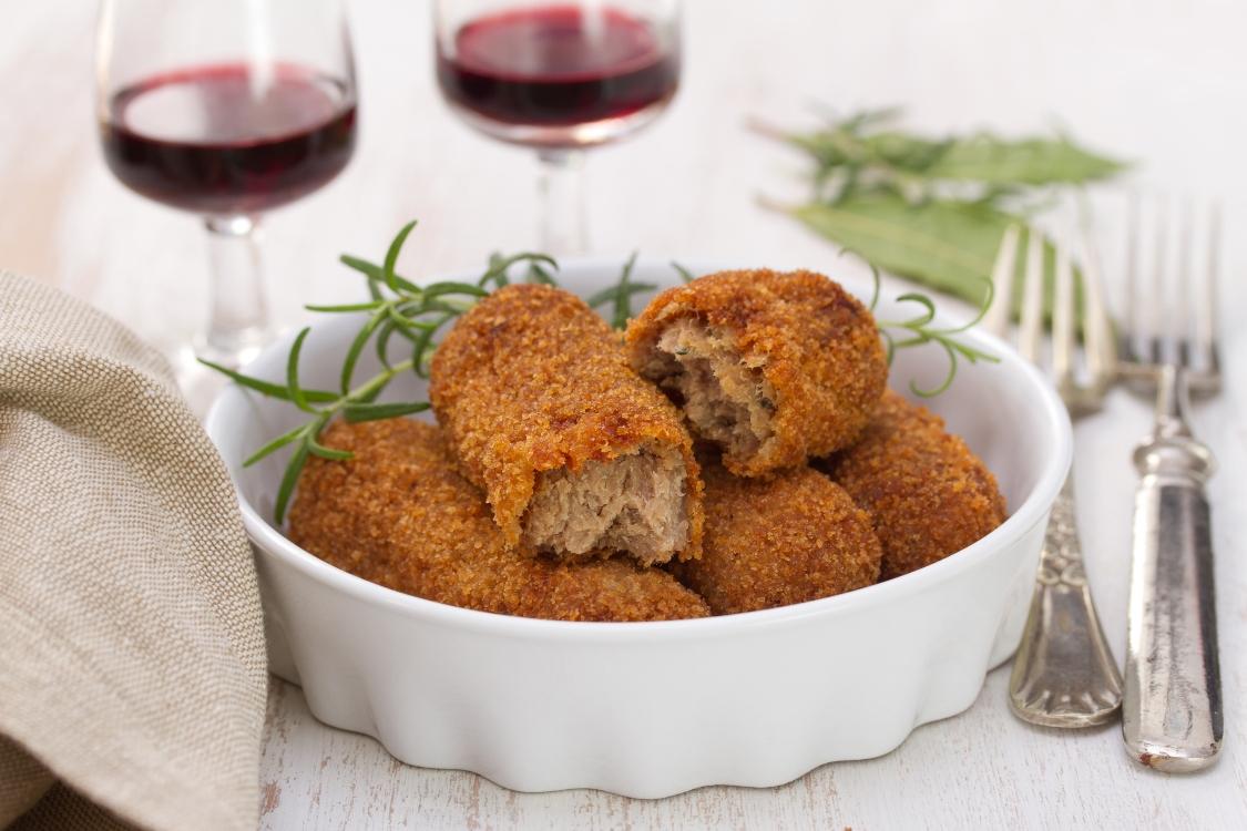 Croquetes: preparados em casa… têm um outro sabor!