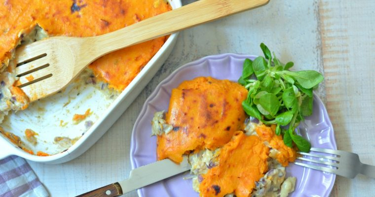 Empadão de bacalhau com batata-doce: uma versão diferente!