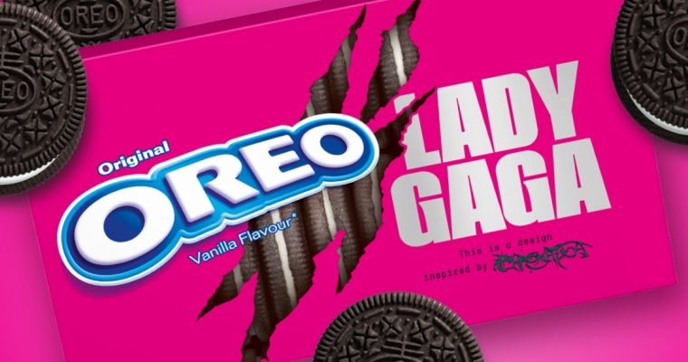 OREO lança edição limitada em parceria com a Lady Gaga!